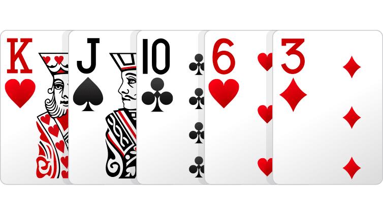 High Card - Cara Bermain Omaha Poker