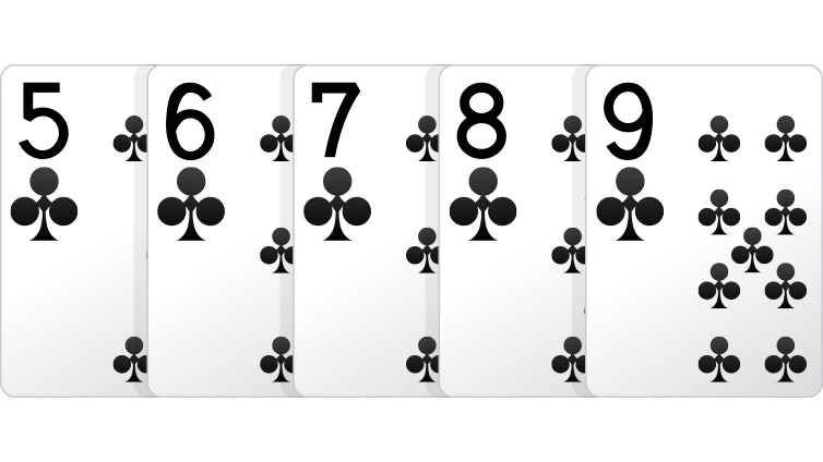 Straight Flush - Cara Bermain Omaha Poker