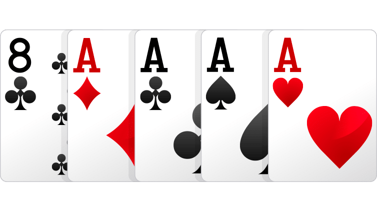 four of a kind - Cara Bermain Poker Online