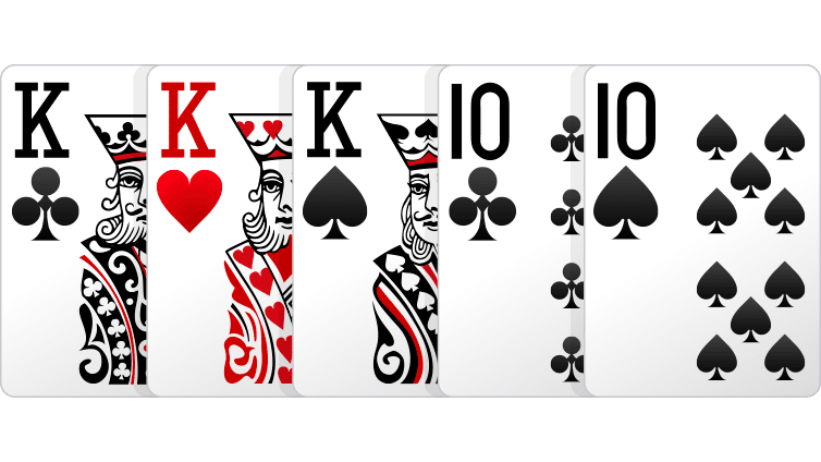 full house - Cara Bermain Poker Online