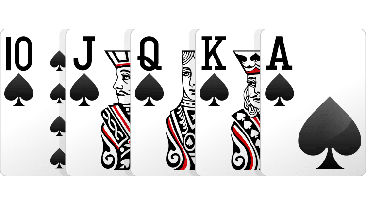 Royal Flush - Cara Bermain Poker Online