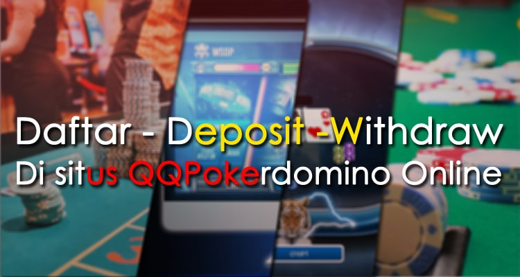 Daftar - deposit - withdraw