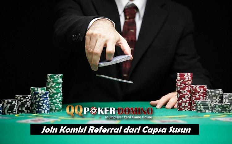 Join Komisi Referral dari Capsa Susun